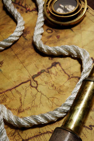 compas de dibujo: Concepto de mar