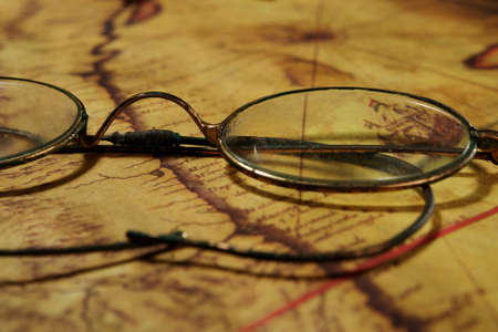 bifocals: Glasses on the old map