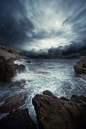 Ocean storm Stock Photo - 9434407