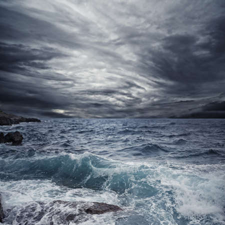 Ocean storm Stock Photo - 9510218