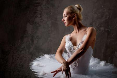 Beautiful ballet dancer photo