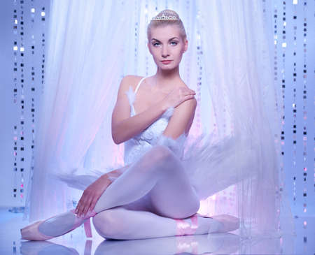 Beautiful ballet dancer Stock Photo - 9904875