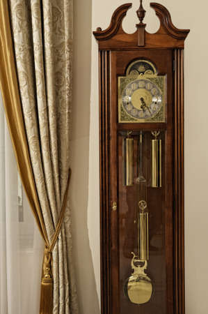 Vintage floor clock photo