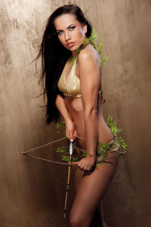 Beautiful amazon archer photo