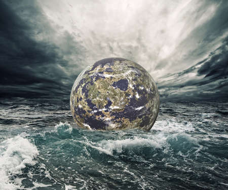 catastrophe: Monde en danger  Banque d'images