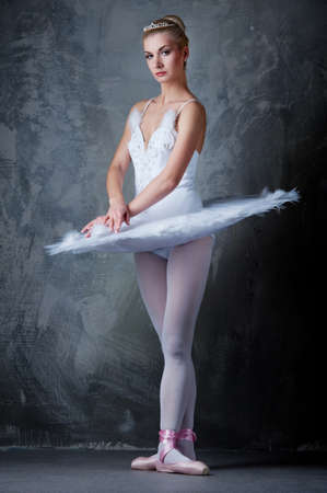 Beautiful ballet dancer photo