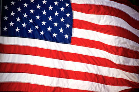 American flag background. Stock Photo - 9949769