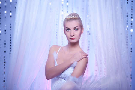 Beautiful ballet dancer Stock Photo - 9949770