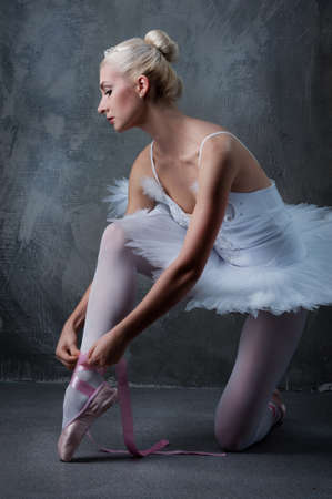 Beautiful ballet dancer Stock Photo - 10015504