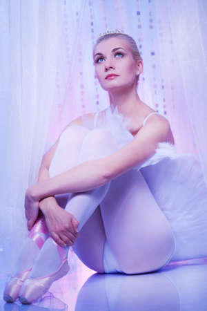 Beautiful ballet dancer. Stock Photo - 10015531