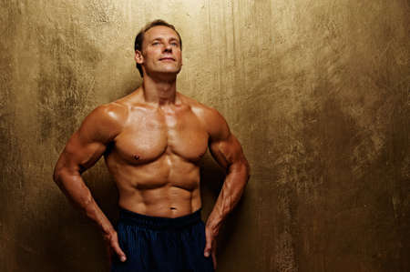 Handsome muscular man. Stock Photo - 10269631