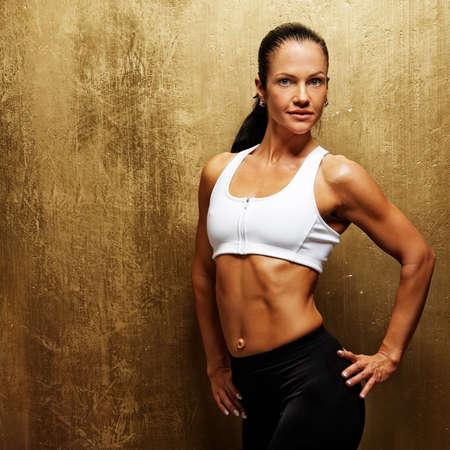 Beautiful athletic woman. Stock Photo - 10269624