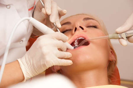 At the dentist's close-up Stock Photo - 10994580