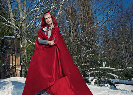 Red Hood standing photo