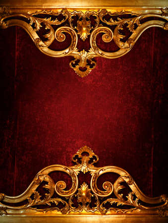royal background: Vintage luxury decoration