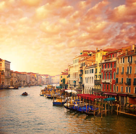 venice italy: Beautiful Venice canal view