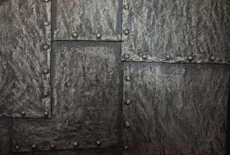brushed aluminium: Metal background. Stock Photo
