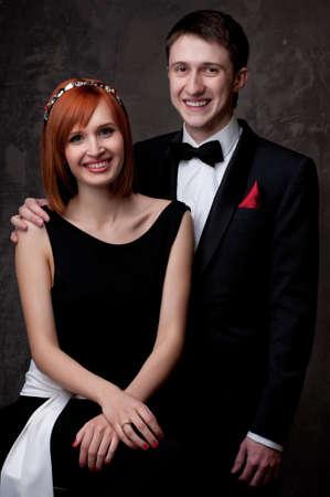 Beautiful young couple. Stock Photo - 12148801