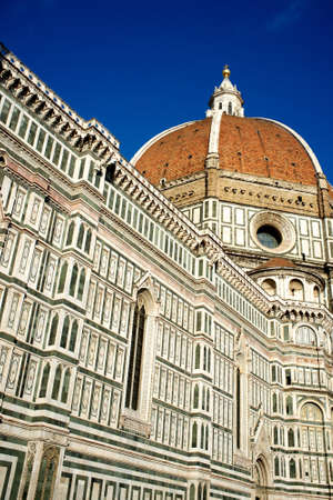 Duomo cathedral in Florence, Italy. photo
