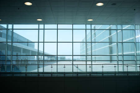 Inside of modern building. Stock Photo - 12609179