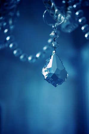 Vintage crystal chandelier details. Stock Photo - 13231196