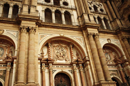 Old cathedral facade. Stock Photo - 13312878