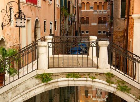 venice bridge: Bridge in a Venice