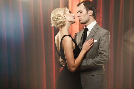 cabaret: Couple on a stage