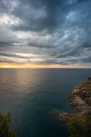 Sunrise over sea Stock Photo - 16053440