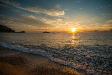 over the sea: Sunrise over sea