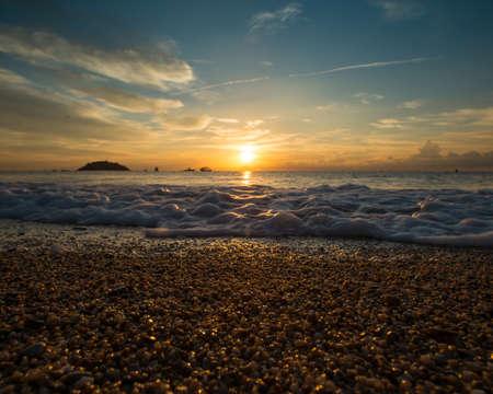 Sunrise over sea Stock Photo - 16054462