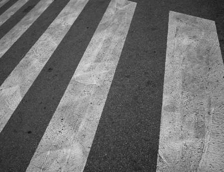 Close-up of pedestrian crosswalk Stock Photo - 16508913