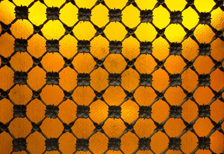 Decorative metal grating close-up Stock Photo - 16752066