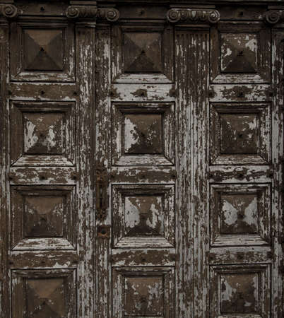Old wooden grunge door  Stock Photo - 16752171