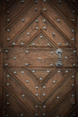 Old wooden door Stock Photo - 17652875