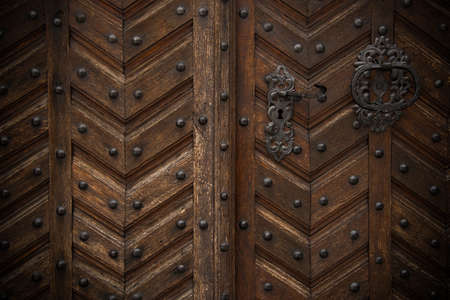 Old wooden door Stock Photo - 17652769