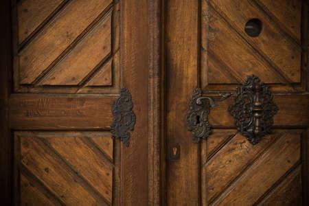 Old wooden door Stock Photo - 17652779
