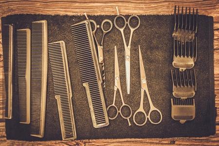 Hairstylist accessoires in kapperszaak Stockfoto - 42257140