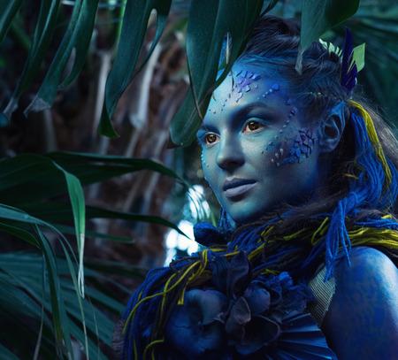 Maquillaje Avatar Mujer Interesting Disfraz Avatar Mujer Maquillaje