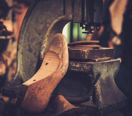 Shoemaker studio craft professional machine.