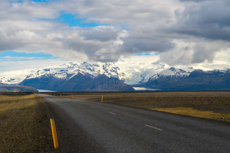Beautiful road in a national park.