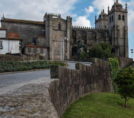 Porto Cathedral Se do Porto, Portugal. Stok Fotoğraf - 94478953