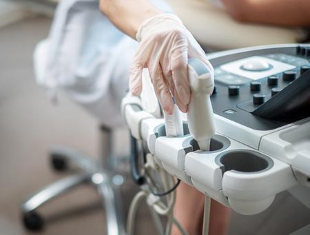 Ultraschalluntersuchungsgeräte im Krankenhaus