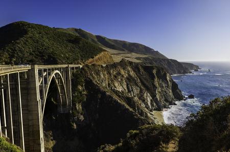 Bixby Creek Bridge in California.