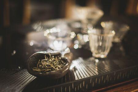 Tasty tea in a bowl