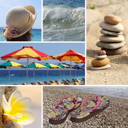 Resort collage - vacation  tourist collage