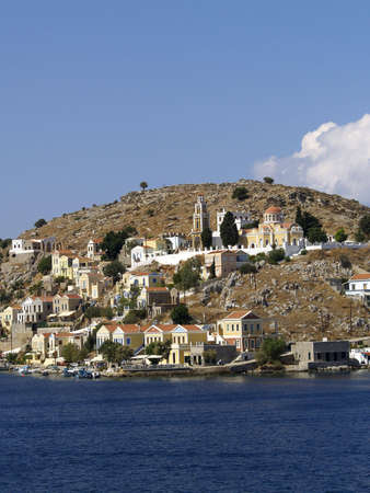 dodecanese: Symi island of the Dodecanese - Greece Stock Photo