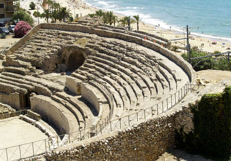 Ruins of ancient amphitheater