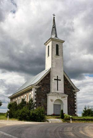 Old church, Tudulinna, Estonia Stock Photo - 8019397