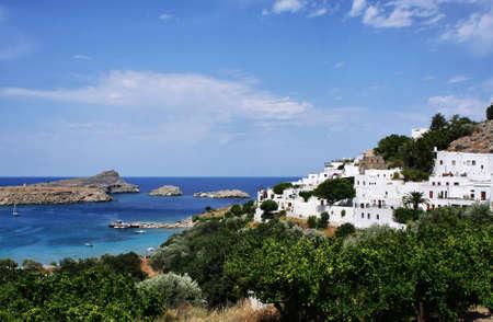 Ancient Lindos - Rhodes island, Greece